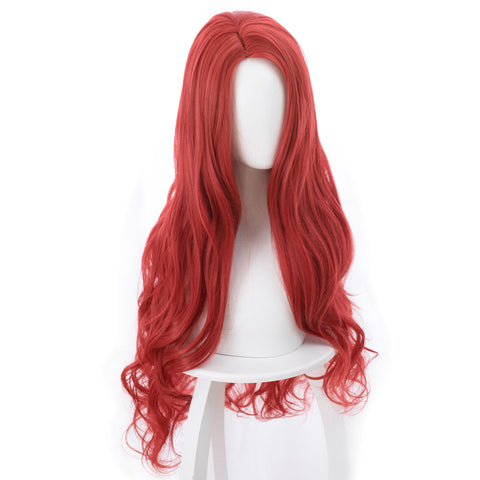 2018 Aquaman Mera Cosplay Wig Red 85CM
