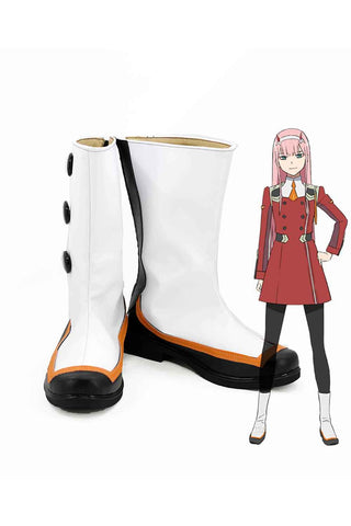 DARLING in the FRANXX 02 Zero Two cosplay shoes boots