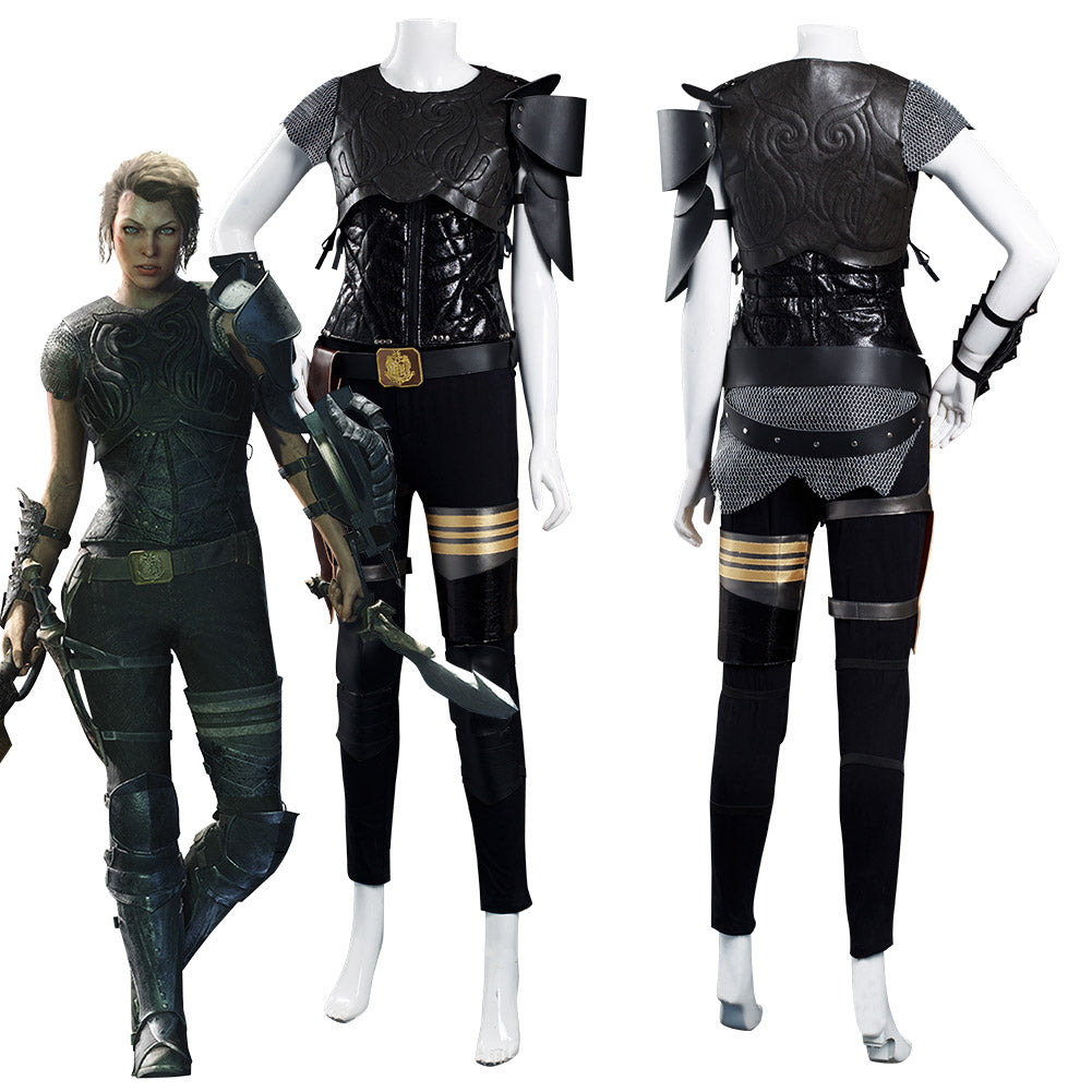 Movie Monster Hunter Artemis Vest Pants Outfits Halloween Carnival Suit Cosplay Costume