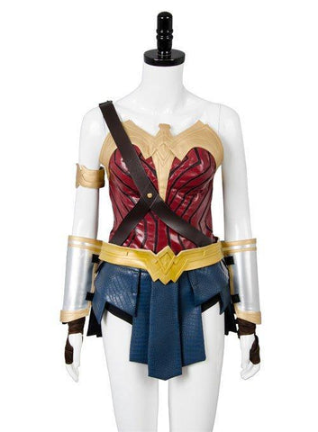 2017 Film Wonder Woman Outfit Gal Gadot Diana Suit Cosplay Costume