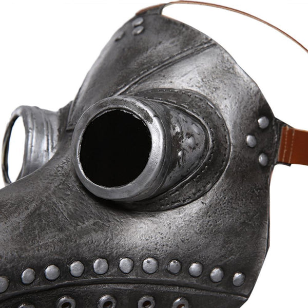 Plague Doctor Bird Mask Latex Long Nose Beak Cosplay Steampunk Halloween Mask Costume Props