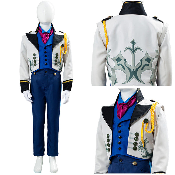 Frozen Prince Hans Outfit Halloween Carnival Costume Cosplay Costume FOR Kids Children