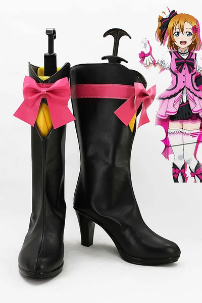 LoveLive! Season 2 KiRa-KiRa-Sensation! Honoka Kosaka Boots Cosplay Shoes