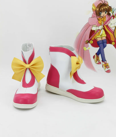 Cardcaptor Sakura Sakura Kinomoto Cosplay Shoes TV Version