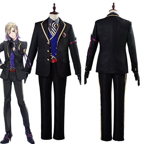Twisted Wonderland Vil Schoenheit Halloween Carnival Costume Cosplay Costume for Adult