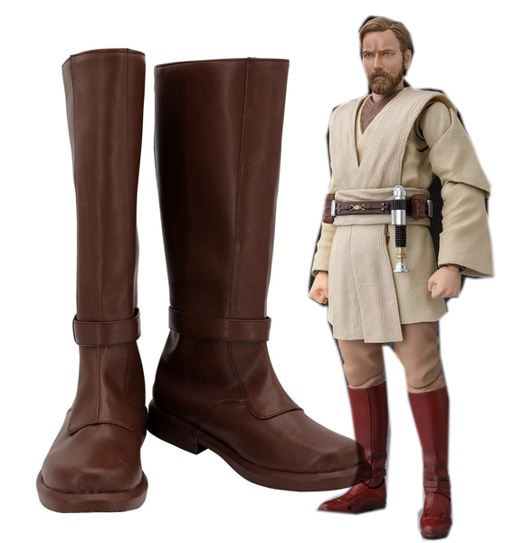 Star Wars Jedi Kenobi Cosplay Shoes