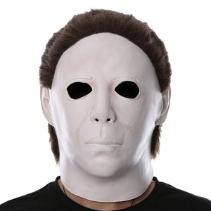 Horror Movie Halloween Michael Myers Scary Helmet Cosplay Accessories