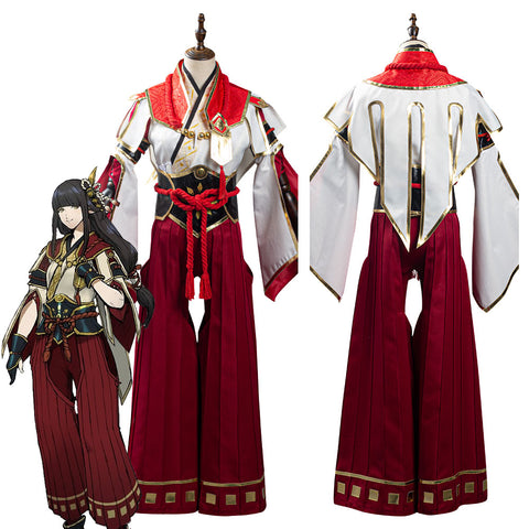 Monster Hunter Rise Hinoa Outfits Halloween Carnival Suit Cosplay Costume