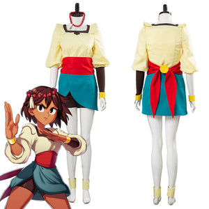 Game Indivisible Ajina Uniform Outfits Halloween Carnival Costume Cosplay Costume