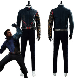 2020 Movie The Falcon and the Winter Soldier Buggy Battle Uniform Cosplay Costume
