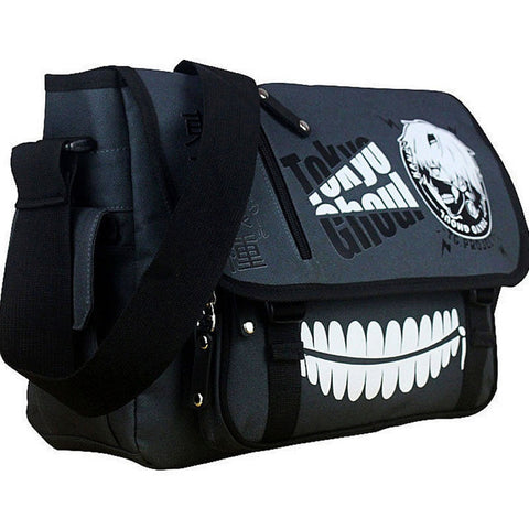 Tokyo Ghoul Messenger Bag School Shoulder Crossbody Satchel Cosplay Accessories