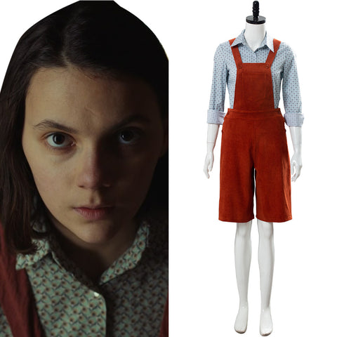 His Dark Materials-Lyra Suit Cosplay Costume