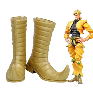 JoJo's Bizarre Adventure Dio Brando Boots Cosplay Shoes