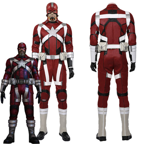 Black Widow 2020 film-Alexei Shostakov-Red Guardian Halloween Carnival Costume for Men Cosplay Costume
