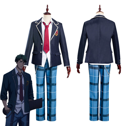 SK8 the Infinity Nanjo Kojirou/Cherry blossom School Uniform Halloween Carnival Suit Cosplay Costume