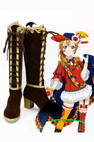 LoveLive! Eli Ayase Magician Boots Cosplay Shoes