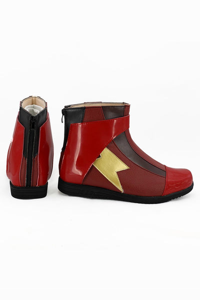 Justice League 2017 Movie Barry Allen Flash Boots Cosplay Shoes