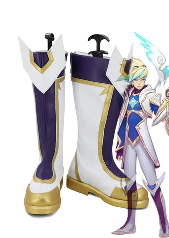 League of Legends Ezreal Star Guardian Cosplay Shoes Boots