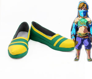 The Legend of Zelda: Breath of the Wild Link cosplay shoes boots