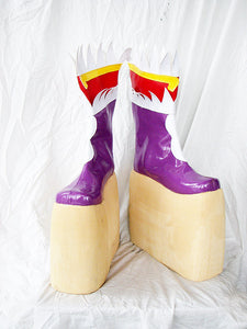 Fantasia Sango 4 Cheng Zi Cosplay Boots Shoes