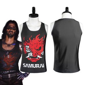 Game Cyberpunk 2077 Johnny Silverhand Cosplay Costume Vest