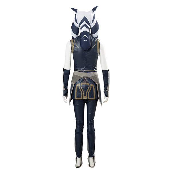 Star Wars: Clone Wars Season 7 Ahsoka Tano Women Girls Outfit Halloween Carnival Costume Cosplay Costume