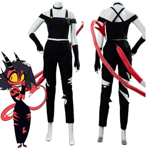 Millie Helluva Boss Hazbin Hotel Outfit Cosplay Costume
