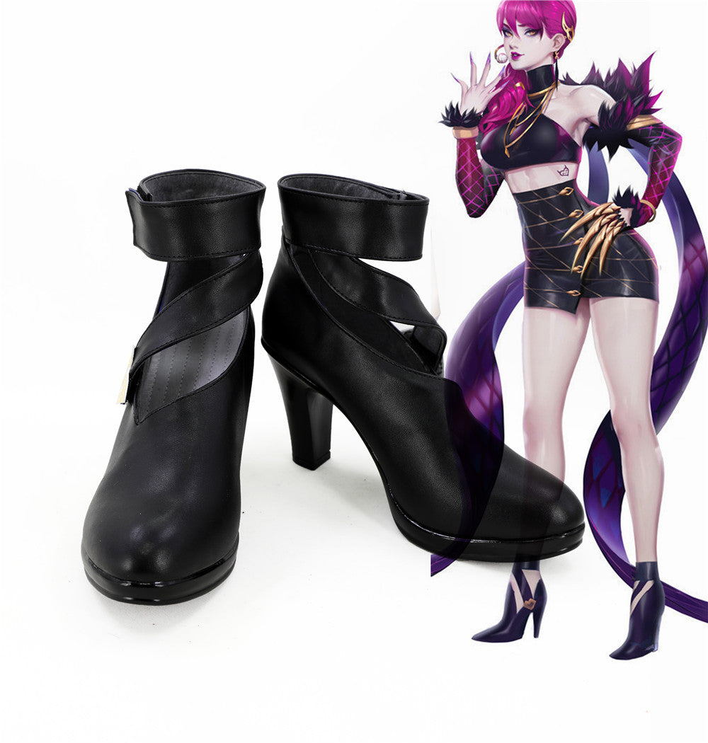 League of Legends Agony's Embrace Evelynn K/DA Skin Cosplay Shoes Boots