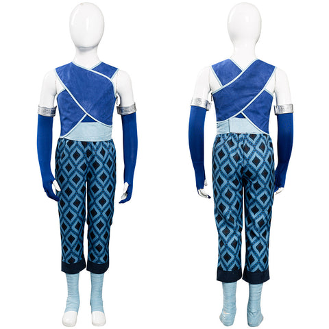 Raya and the Last Dragon - Raya Kids Halloween Carnival Suit Cosplay Costume