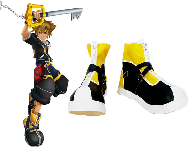 Kingdom Hearts sora Cosplay Shoes Custom Made