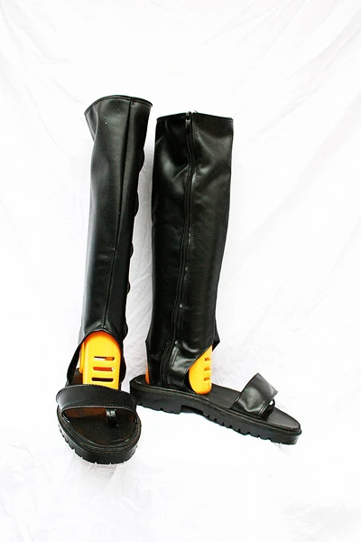 Naruto Uchiha Sasuke Cosplay Boots Shoes Black