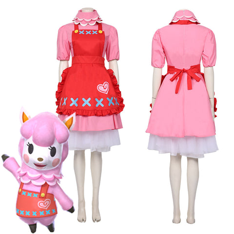 Animal Crossing Reece Dress Halloween Carnival Costume Cosplay Costume