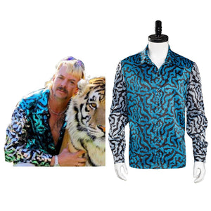 Tiger King Joe Exotic Print Shirt Cosplay Costume