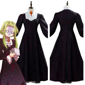 Anime Toilet-bound Hanako-kun Sakura Nanamine Party Dress Halloween Cosplay Costume