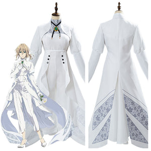 Violet Evergarden Violet Evergarden: Eternity and the Auto Memories Doll Outfit Cosplay Costume