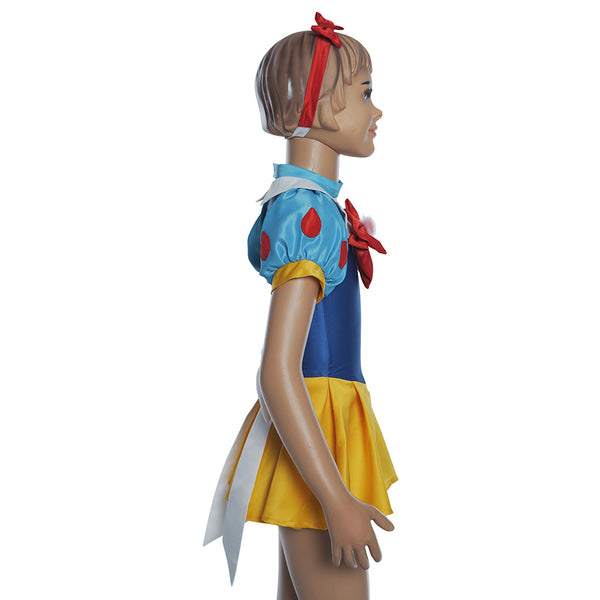 Snow White Sailor Moon Change Dress Cosplay Costume