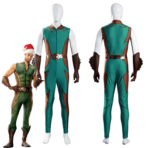 The Boys Ocean Master Jumpsuit Outfits Halloween Carnival Suit Cosplay Costume