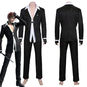 Final Fantasy VII Remake-Reno Men Jacket Pants Outfit Halloween Carnival Costume Cosplay Costume