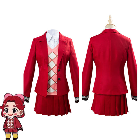 Game Animal Crossing Celeste Women Uniform Outfit Halloween Carnival Costume Cosplay Costume