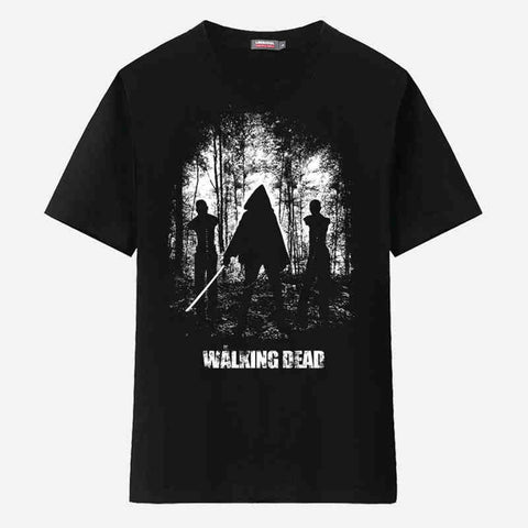 The Walking Dead Michonne Walkers Men's T-Shirt