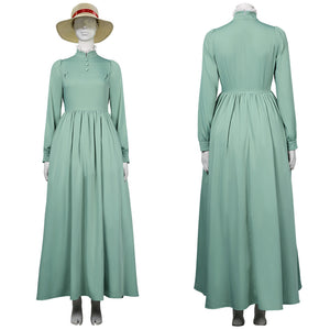 Movie Howl's Moving Castle-Sophie Hatter Women Dress Outfits Halloween Carnival Suit Cosplay Costume