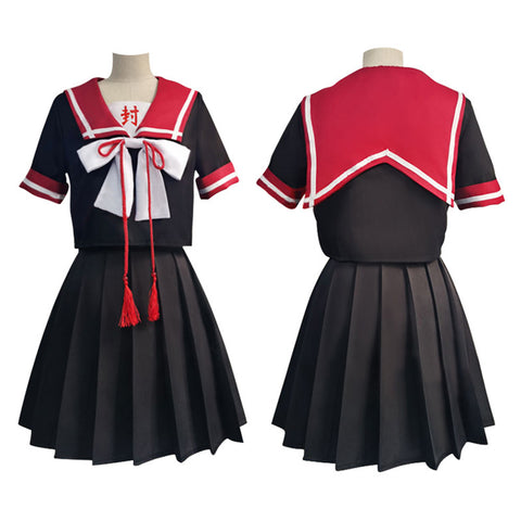 Toilet-bound Hanako-kun Yugi Tsukasa JK Uniform Skirt Outfits Halloween Carnival Suit Cosplay Costume