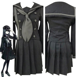 Danganronpa V3 Cosplay Saihara Shuichi School Uniform Skirts Outfit Cosplay Costume