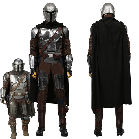 The Mandalorian Season 2 -Din Djarin Dress Outfits Halloween Carnival Suit Cosplay Costume