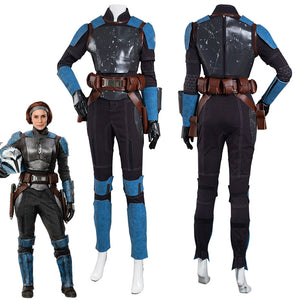 The Mandalorian S2 Bo-Katan Kryze Jumpsuit Outfits Halloween Carnival Suit Cosplay Costume