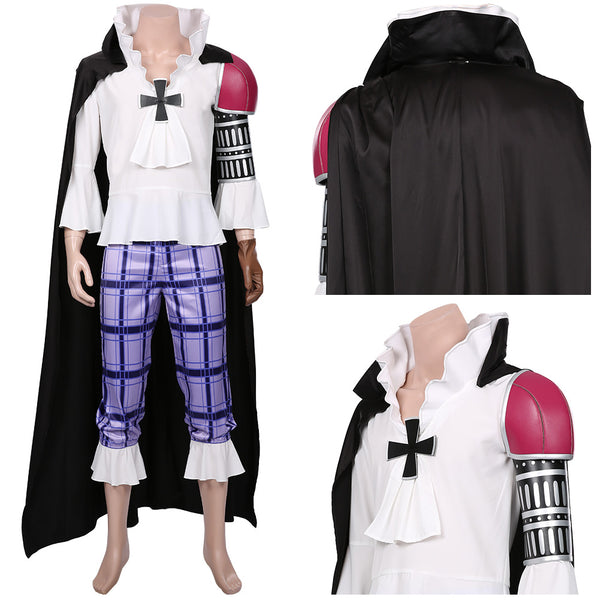 One Piece:Pirate Warriors 4 Basil Hawkins Halloween Carnival Costume Cosplay Costume