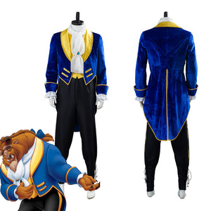 Prince Beast Costume Beauty And The Beast Halloween Carnival Costume Cosplay Costume for Adult