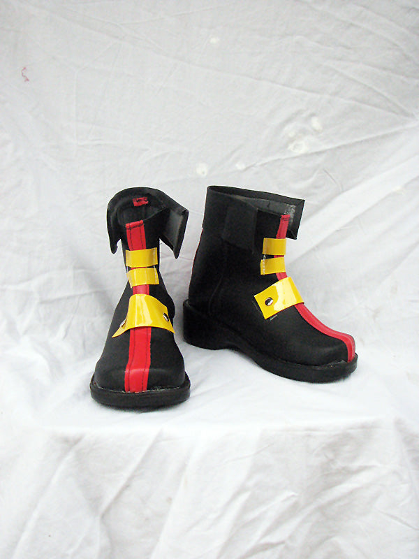 Magical Girl Lyrical Nanoha Teana Lanster Cosplay Boots Shoes