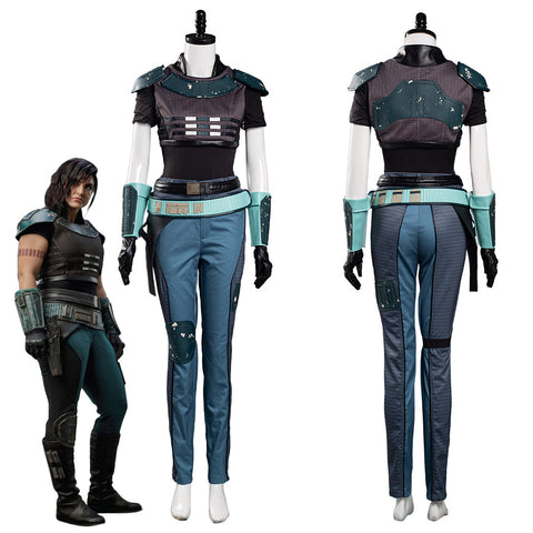 Mandalorian Cara Dune Women Uniform Outfits Halloween Carnival Suit Cosplay Costume