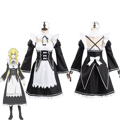 Re:Life in a different world from zero Frederica Baumann Women Dress Outfits Halloween Carnival Suit Cosplay Costume